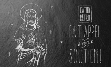 Project visual Catho Rétro, le concept store religieux