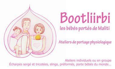 Visuel du projet Bootliirbi, les bébés portés de Maliti