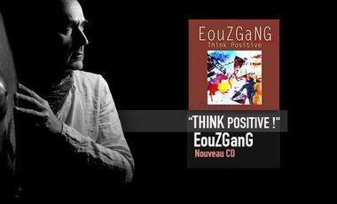 """Visueel van project Nouveau CD  """"Think Positive ! """"."""