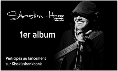 Visueel van project Enregistrement du 1er album solo du guitariste Sébastien Hogge