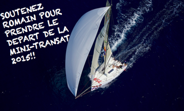 Project visual Romain Mouchel-Mini Transat 2015