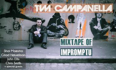 "Visueel van project Tim Campanella - 1st Album ""Mixtape of Impromptu"""