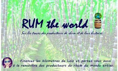 Visueel van project RUM THE WORLD