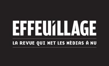 Visueel van project EFFEUILLAGE - La revue qui met les médias à nu