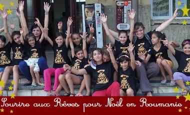 Visueel van project Sourire aux Rêves pour Noël en Roumanie !