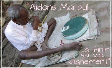 Visuel du projet Aidons Manpul Singh à finir sa vie dignement