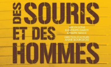 Project visual Des Souris et des Hommes au Théâtre du Palais Royal !