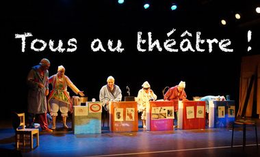 Project visual Tous au théâtre ! à Vaour