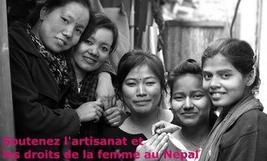 Project visual Valorisez et soutenez les femmes Népalaises