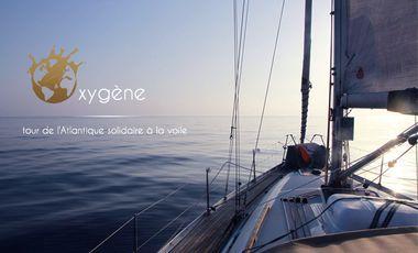 Visueel van project Oxygène, tour de l'Atlantique solidaire à la voile