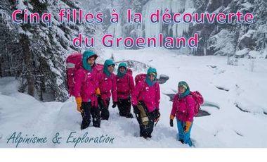 Project visual Cinq filles à la découverte du Groenland ...