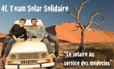 Project visual Team Solar Solidaire