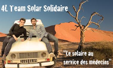 Visueel van project Team Solar Solidaire