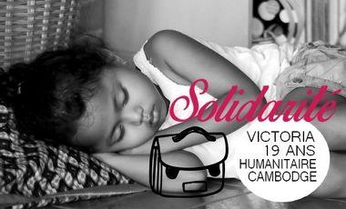 Visueel van project Humanitaire Cambodge