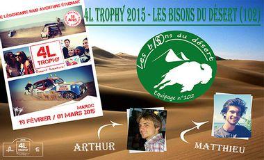Visueel van project 4L Trophy 2015 - Les bISOns du désert (102)