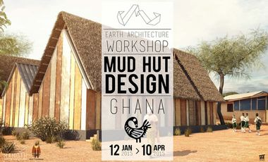 Visueel van project Sankofa House - Chantier participatif au Ghana