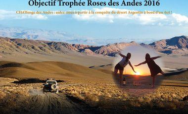 Visueel van project Objectif Trophée Roses des Andes 2016