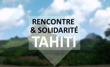 Visueel van project Rencontre et solidarité Tahiti 2015