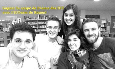 Visueel van project Gagner la Coupe de France des IUT avec l'IUTeam de Rouen!