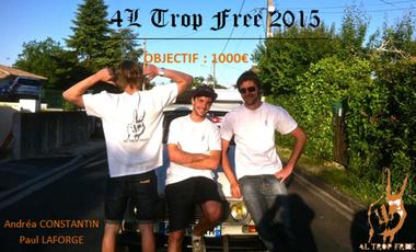 Project visual Financez le 4L TROP FREE !