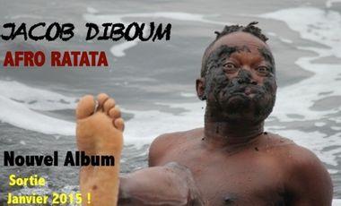 Visueel van project «AFRO RATATA » nouvel  album de Jacob Diboum