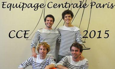 Project visual Course Croisière Edhec Equipage Centrale Paris