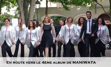 Project visual En route vers le 4ème album de Maniwata