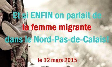 Project visual Et si ENFIN on parlait de la femme migrante !