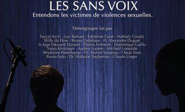 Project visual STOP AU DENI - LES SANS VOIX