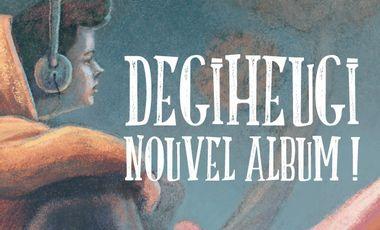 Visueel van project DEGIHEUGI - NEW ALBUM