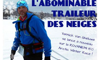 Project visual L'abominable traileur des neiges