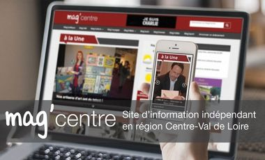Project visual Magcentre.fr, l'information sur un autre ton