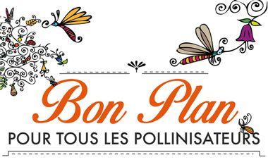 Visueel van project Bon plan pour tous les pollinisateurs !