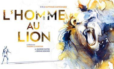 Project visual L'homme au lion