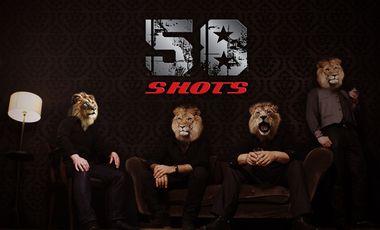 """Visueel van project 58 Shots - 1er Album """"You Don't Mess With The Lion"""""""