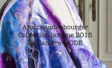 Project visual Alix Brandenbourger - Collection homme 2015 - La Cambre