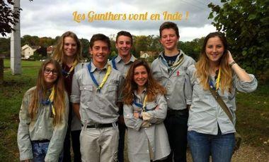 Project visual Les Gunthers vont en Inde !