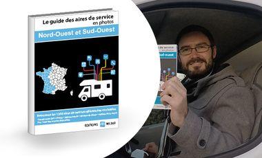 Visueel van project Guide papier interactif des aires de service pour camping-car