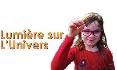 Visueel van project Lumière sur l'Univers !