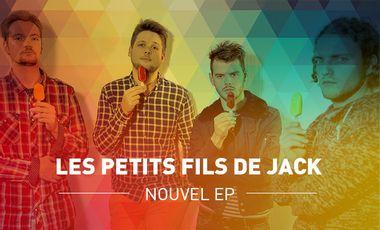 Visuel du projet Les Petits Fils De Jack - Nouvel EP