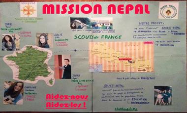 Visuel du projet Mission Népal
