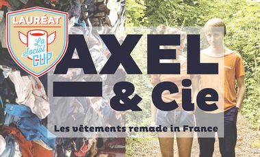 Visueel van project Axel&Cie - les vêtements remade in France