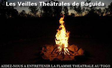 Project visual Veilles Théâtrales de Baguida