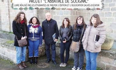 Visueel van project Projet livre Solignac