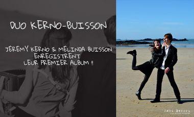 Visuel du projet Premier Album du Duo Kerno-Buisson