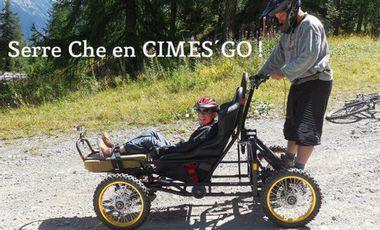 Project visual SERRE-CHE EN CIMES' GO !