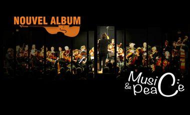 Visuel du projet Nouvel Album Music&Peace