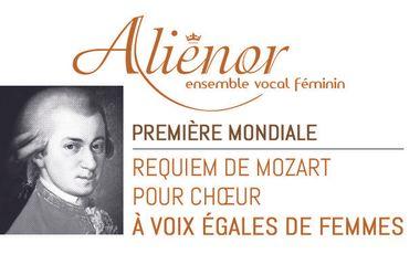 Visueel van project ALIENOR : le Requiem de Mozart au Féminin !