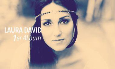 Visueel van project Laura David 1er Album