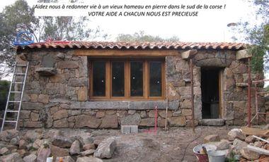 Project visual Restauration d'un vieux hameau en pierre dans le sud de l'île de beauté